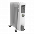 2kW Electric Oil Filled Column Radiator with Timer