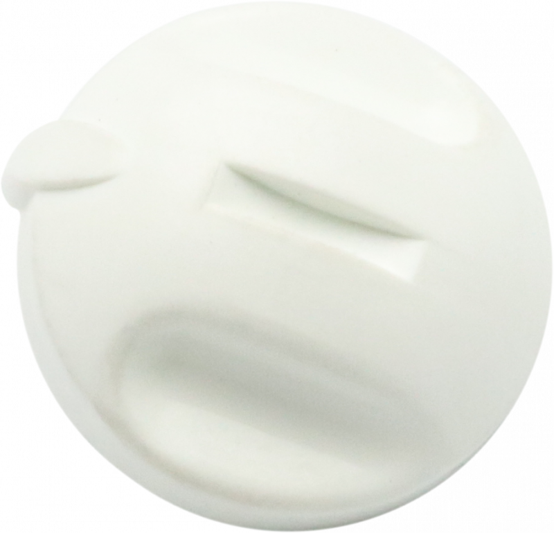 Components & Spares - NEW ERA CONTROL KNOBS WHITE - 84267 - 0