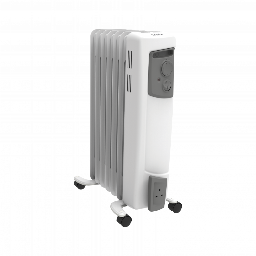 1.5kW Electric Oil Filled Column Radiator
